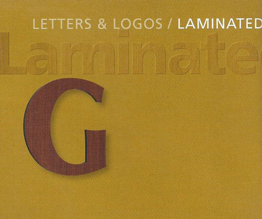 Laminated Letters Laminated Numbers