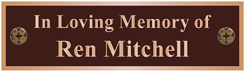 Bench Plaque