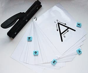 Laminated Letters