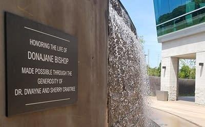 Etched Bronze Memorial Plaque