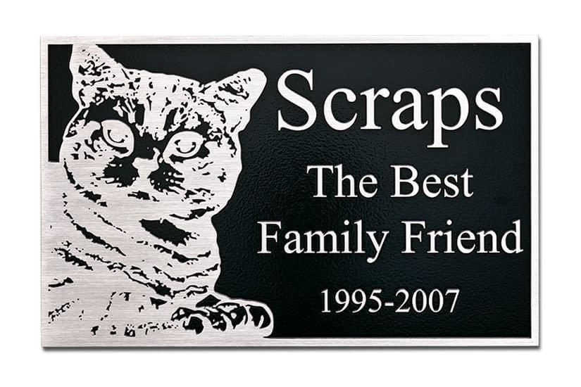 Pet Memorial Plaque Gallery
