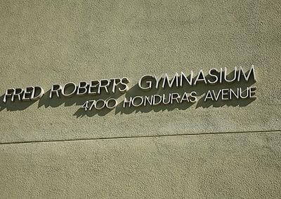 Gymnasium Signage