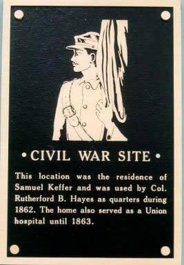 Civil War Site plaque