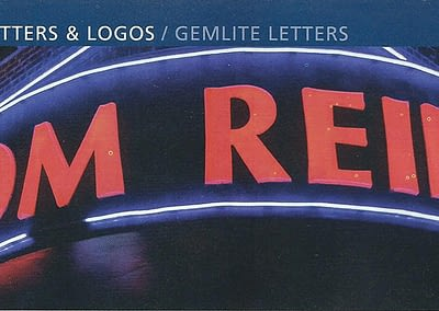 Illuminated Letters for Custom Signs