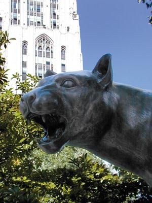 Bronze Cat Statue